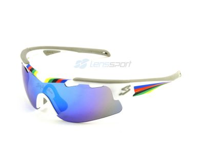 Gafas deportivas Spiuk Arqus GARQCHRE WCH / Mirror Blue + Orange + Clear