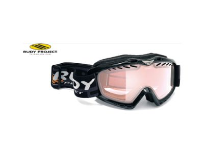 Máscara de nieve Rudy Project Klonyx Snow Black Gloss - Laser Silver DL