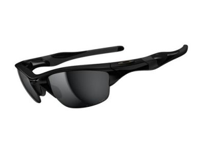Gafas deportivas Oakley Half Jacket 2,0 Polished Black / Black Iridium Polarized