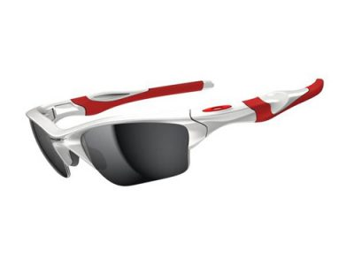 Gafas deportivas Oakley Half Jacket 2,0 XL Polished White / Black Iridium