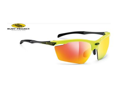 Gafas deportivas Rudy Project Yellow Fluo Gloss / RPO Multilaser Orange