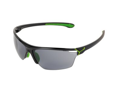 Gafas deportivas Cébé Cinetik 3 Shiny Black-Green/1500 Grey Flash Blue + Yellow + Clear