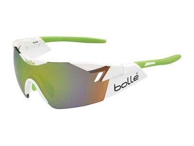 Gafas deportivas Bollé 6TH Sense Bollé 6th SENSE Shiny White-Lime / Modulator Brown Emerald