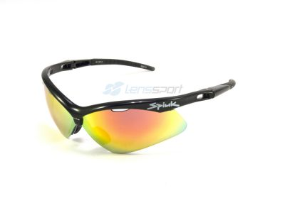 Gafas deportivas Spiuk Ventix GVENNG02 (Black) / Mirror Red + Orange + Clear