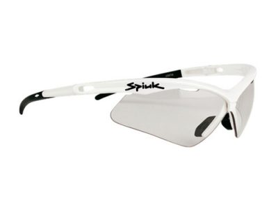 Gafas deportivas Spiuk Ventix GVENBLLU (White) / Photochromic Lumiris II + Mirror Red