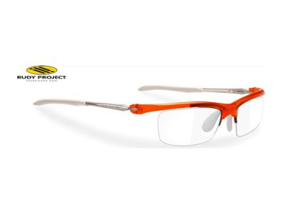 Montura deportiva de graduado Rudy Project Maya Suf Crystal Orange White