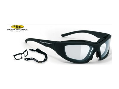 Gafas deportivas fotocromaticas Rudy Project Guardyan Matte Black / IMPACTX Photochromic Clear