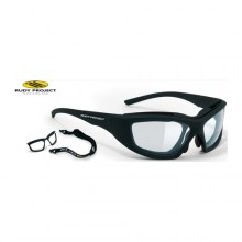 Gafas de protección deportiva Rudy Project Guardyan Matte Black / IMPACTX Photochromic Clear