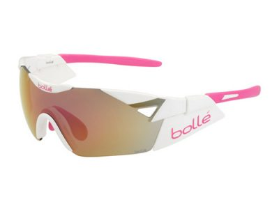 Gafas deportivas Bollé 6TH Sense 11913 Shiny White-Pink / Rose Gold oleo AF