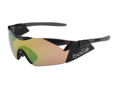 Gafas deportivas Bollé 6TH Sense 11915 Shiny Black / Modulator Brown Emerald oleo AF