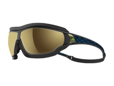 Gafas deportivas adidas Tycane pro Outdoor Black Matt & Blue - Space Lens