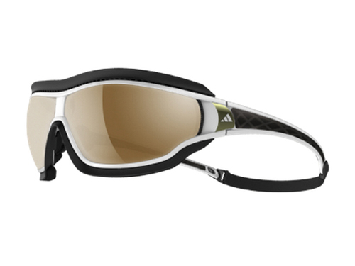Gafas deportivas adidas Tycane pro Outdoor White Shiny & Grey - LST Bluelightfilter