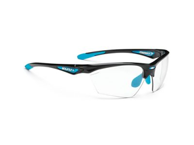 Gafas deportivas Stratofly Black Gloss-Light Blue / Photoclear