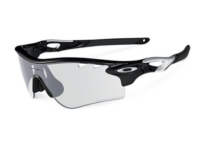 Gafas deportivas Oakley Radarlock Path 0OO9181-36 Polished Black / Clear Black Iridum Photochromic