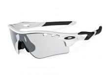 Gafas deportivas Oakley Radarlock Path 0OO9181-37 Matte Black / Clear Black Iridum Photochromic
