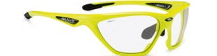 Gafas deportivas Rudy Project Firebolt Yellow-Fluo Gloss / RPO Phochromic Clear