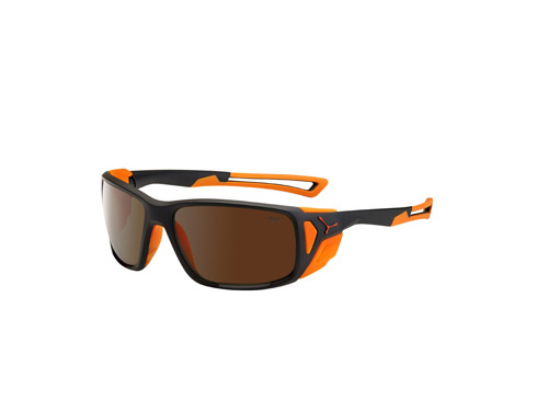 Gafas de Sol Cébé PROGUIDE CBPROG2 Matt Black Orange / 2000 Brown AR FM para alpinismo