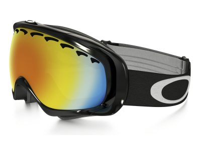 Máscara de nieve Oakley Crowbar Snow OO7005 Jet Black / Fire Iridium