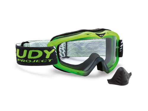 Máscara Rudy roject Klonyx MX Frozen Green / Transparent