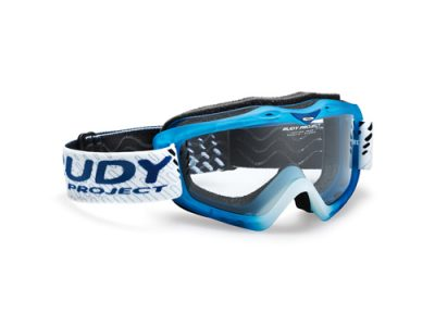Máscara Rudy roject Klonyx MX Frozen Blue / Transparent