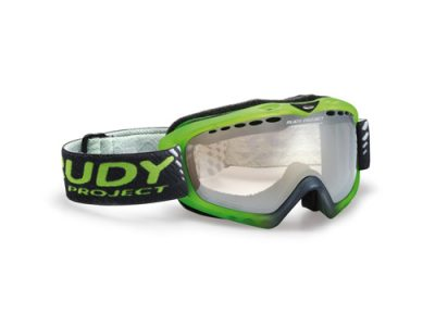 Máscara Rudy roject Klonyx Snow Sferik Frozen Green / IMPACTX Photochromic Multilaser Clear