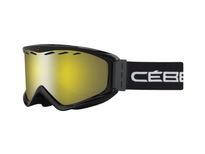 Máscara de nieve Cébé Infinity OTG CBG67 BLACK / YELLOW FLASH MIRROR