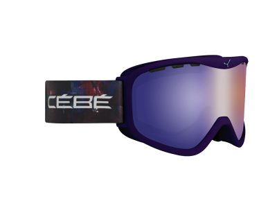Máscara de nieve Cébé Ridge OTG CBG75 VIOLET INSPIRATION / BROWN FLASH BLUE