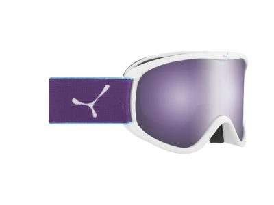 Máscara de nieve Cébé Striker M CBG60 WHITE VIOLET / DARK ROSE FLASH MIRROR