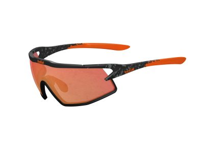 Gafas deportivas Bollé B-ROCK 12152 Matte Black and Orange - TNS Fire