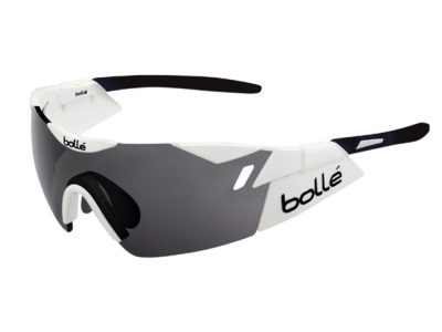 Gafas deportivas Bollé 6TH Sense 12162 Shiny White-Black / Modulator Clear Grey