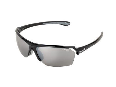Gafas de Sol Cébé Running WILD CBWILD5 Shiny black Grey - 1500 Grey Flash Silver + Yellow 1 + Clear 0