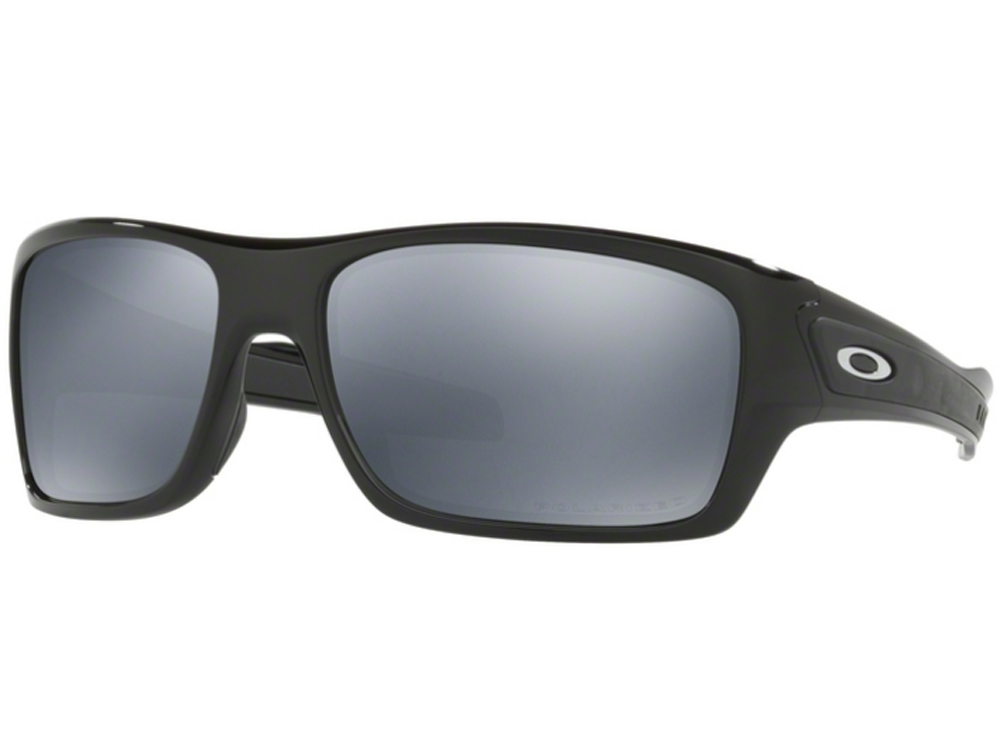 venta caliente online a445b d3832 Oakley Turbine Polished Black Iridium Polarized
