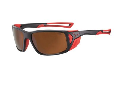 Gafas Cébé PROGUIDE CBPROG8 Matt Black Red - 2000 Brown AR FM