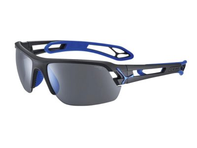Gafas polarizadas Cébé S'Track CBSTM17 Matt Black Blue / 1500 Grey Polarized